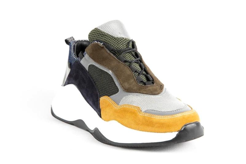 Mosc Kaki/Yellow Shoe MSH003