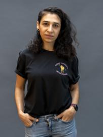 T-shirt, Don't tolerate intolerance - Black xxs t/m 5xl