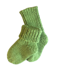 Handgebreide wollen sokjes   Oksana