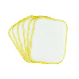 BilliesBox wasbare billendoekjes (setje van 6) geel