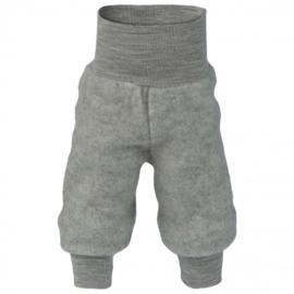 Wolfleece baby broekje, grijs-melange | ENGEL