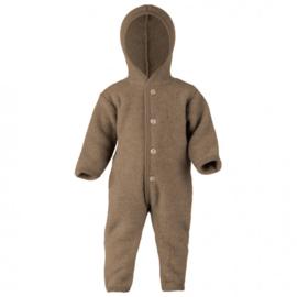 Wolfleece baby overall, walnut | Engel
