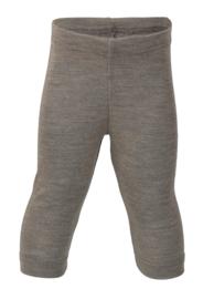 Wol/zijde baby legging, walnoot | Engel