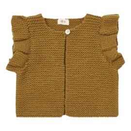 Ketiketa handgebreid mouwloos wollen vestje
