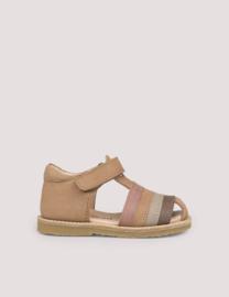 Rainbow sandal, Latte | Petit Nord