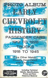 Early Chevrolet History Cars & Trucks