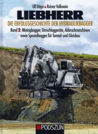LIEBHERR Band 2 Miningbagger,Tunnel und Gleisbau