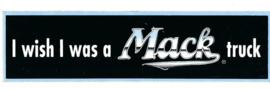 MACK Sticker model i Wish