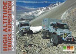 High Altitude Truck Expedition met Unimog.