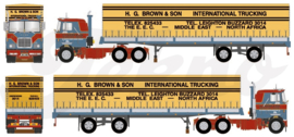 Mack F700 6x4 Brown