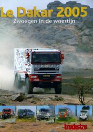 Truckstar Le Dakar zwoegen in de Woestijn