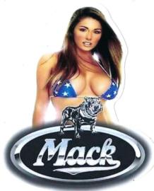 MACK Sticker Girl USA