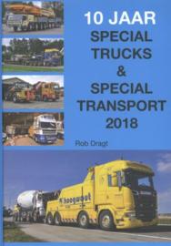 Rob Dragt boek 2018 special trucks & speciaal transport
