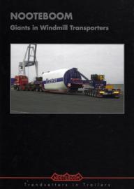 Nooteboom. Giants in Windmill Transporters