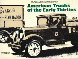 American Trucks of the Early Thirties