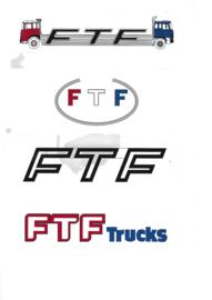 FTF Trucks Stickerset 4 stuks