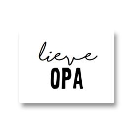 5 stickers - lieve opa