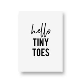 zwartwitjes - hello tiny toes