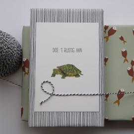 kaart van Opa Muis - schildpad