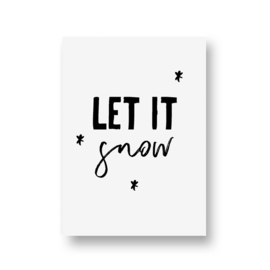 zwartwitjes - let it snow