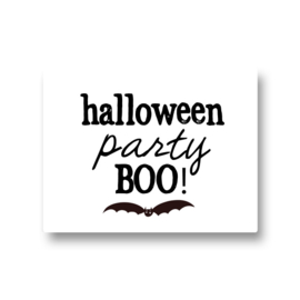 5 stickers - halloween party