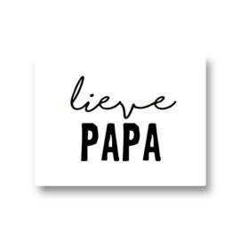 5 stickers - lieve papa