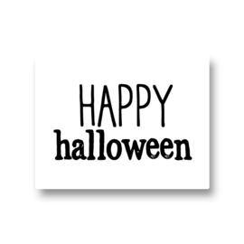 5 stickers - happy halloween