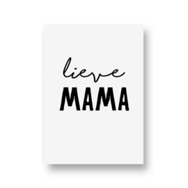 zwartwitjes - lieve mama