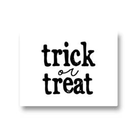 5 stickers - trick or treat