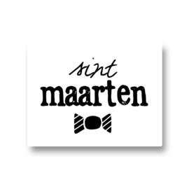 5 stickers - sint maarten snoepje