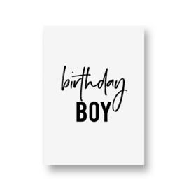 zwartwitjes - birthday boy