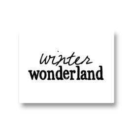 5 stickers - winter wonderland