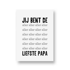 zwartwitjes - aller liefste papa