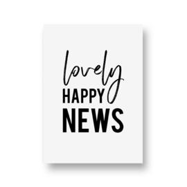 zwartwitjes - lovely happy news
