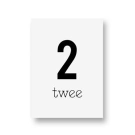 zwartwitjes - twee