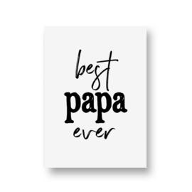 zwartwitjes - best papa ever