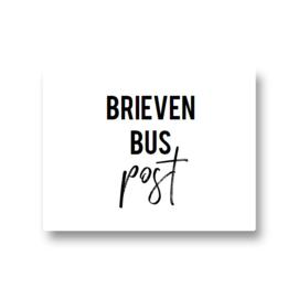 5 stickers - brievenbuspost