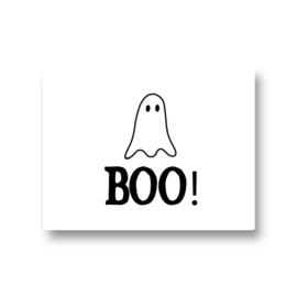 5 stickers - boo spook