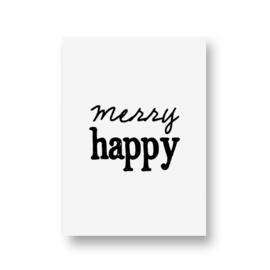 zwartwitjes - merry happy