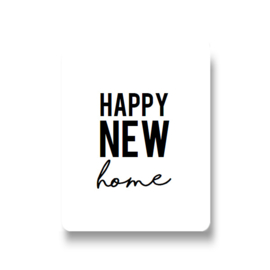 5 stickers - happy new home