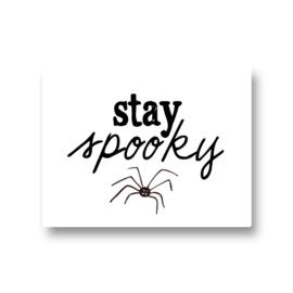 5 stickers - stay spooky