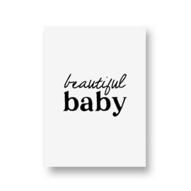 zwartwitjes - beautiful baby