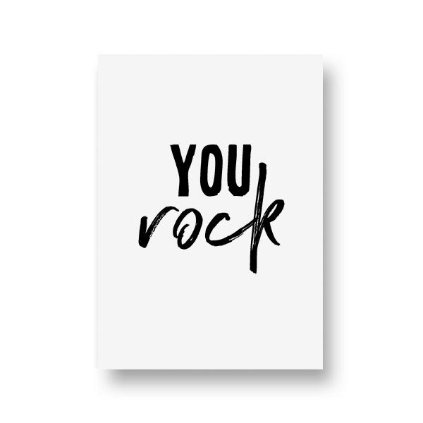zwartwitjes - you rock