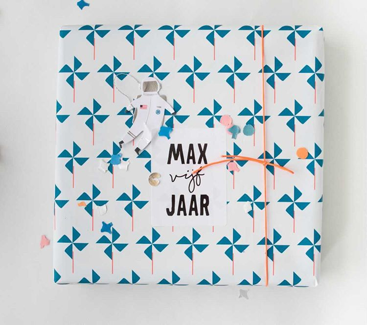5 naamstickers - (max)