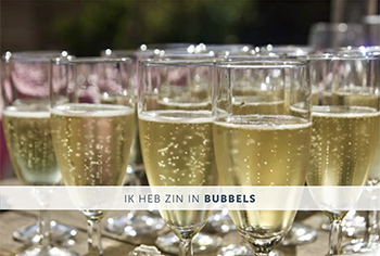 Zin in bubbels
