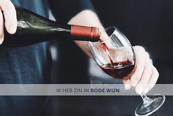 Zin in rode wijn
