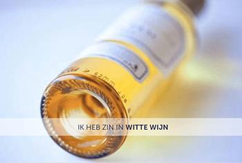Zin in witte wijn