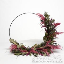 Flowerhoop - Pink - 40cm