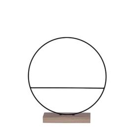 Ring op Houten Voet - 30 cm