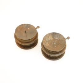 oude spoel kandelaar